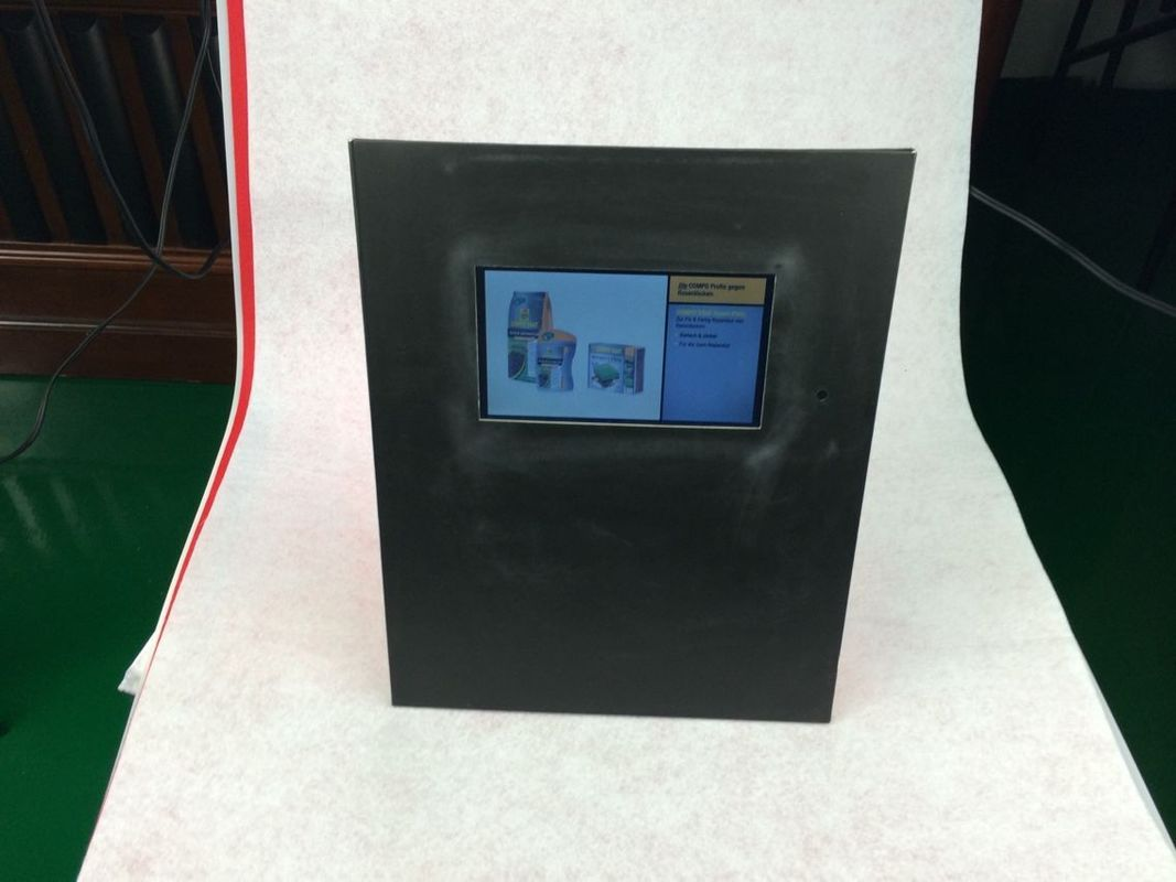 15 Inch Digital Photo Frame With Cardboard Display For Video Play Advertising